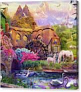 Light Palace Canvas Print