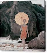 Vogue January 1st, 1959 Canvas Print