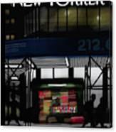 Newsstand Canvas Print