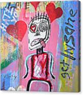 Untitled Love Canvas Print