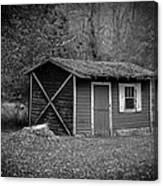 A Place In The Woods Canvas Print