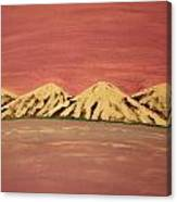 Untitled Mountains Canvas Print