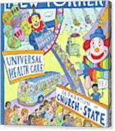 New Yorker September 24th, 2012 Canvas Print