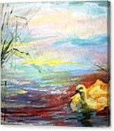 Untitled Watercolor       Canvas Print