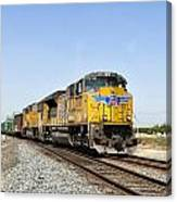 Up 8587 Southbound From Traver Canvas Print