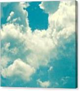 The Kiss Of The Clouds Canvas Print
