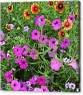 Up Close In The Garden I Canvas Print