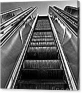 Up Escalator Canvas Print