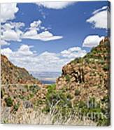 Up From Jerome Arizona Canvas Print