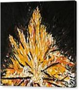 Up In Flames Canvas Print