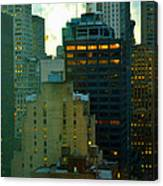 Up - Skyscrapers Of New York Canvas Print