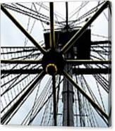 Up The Rigging Canvas Print