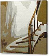 Up The Staircase Canvas Print