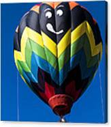 Up Up And Away In My Beautiful Balloon Canvas Print