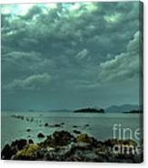 Upcoming Rain Canvas Print