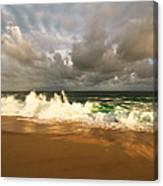 Upcoming Tropical Storm Canvas Print