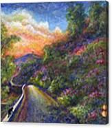 Uphill Canvas Print