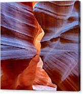 Upper Antelope Canyon Tones And Curves Canvas Print