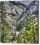 Upper Bear River Valley Canvas Print