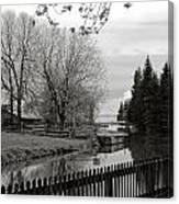 Upper Canada Village Canvas Print