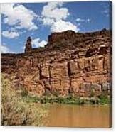 Upper Colorado River View Canvas Print