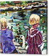 Upper Duck Pond Canvas Print