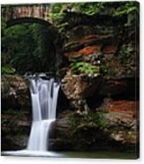 Upper Falls At Hocking Hills State Park Canvas Print