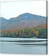 Upper Lake Toxaway In The Fall 2 Canvas Print