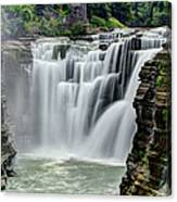 Upper Letchworth Falls Canvas Print