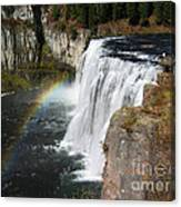Upper Mesa Falls Idaho Canvas Print