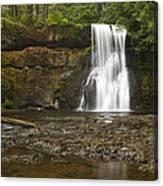 Upper North Silver Falls 1 Canvas Print