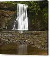 Upper North Silver Falls 2 Canvas Print