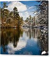 Upper Pond Canvas Print