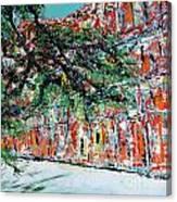 Upper Pontalba Building Canvas Print