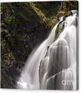 Upper Portion Of Lower Falls Canvas Print