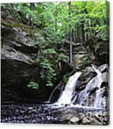 Upper Purgatory Falls - Wide Canvas Print