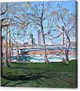 Upper Rapids Of Niagara Falls Ny Canvas Print