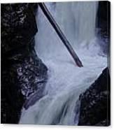Upper Twin Falls Close Canvas Print
