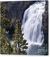 Upper Yellowstone Falls Canvas Print