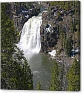Upper Yellowstone Falls Canvas Print