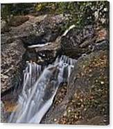 Uppre Chasm Falls Canvas Print