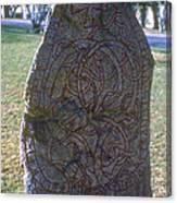 Uppsala Runestone Canvas Print