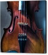 Upright Violin - Cool Canvas Print