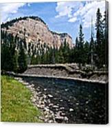Upriver In Washake Wilderness Canvas Print