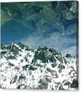 Upside Down World Canvas Print