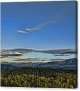 Upslope Flow Canvas Print