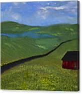 Upstate Lakes Region Canvas Print