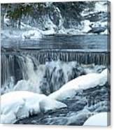 Upstream At Bond Falls Canvas Print
