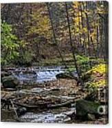 Upstream Bridal Veil Falls Canvas Print