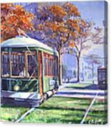 Streetcars Uptown New Orleans Canvas Print